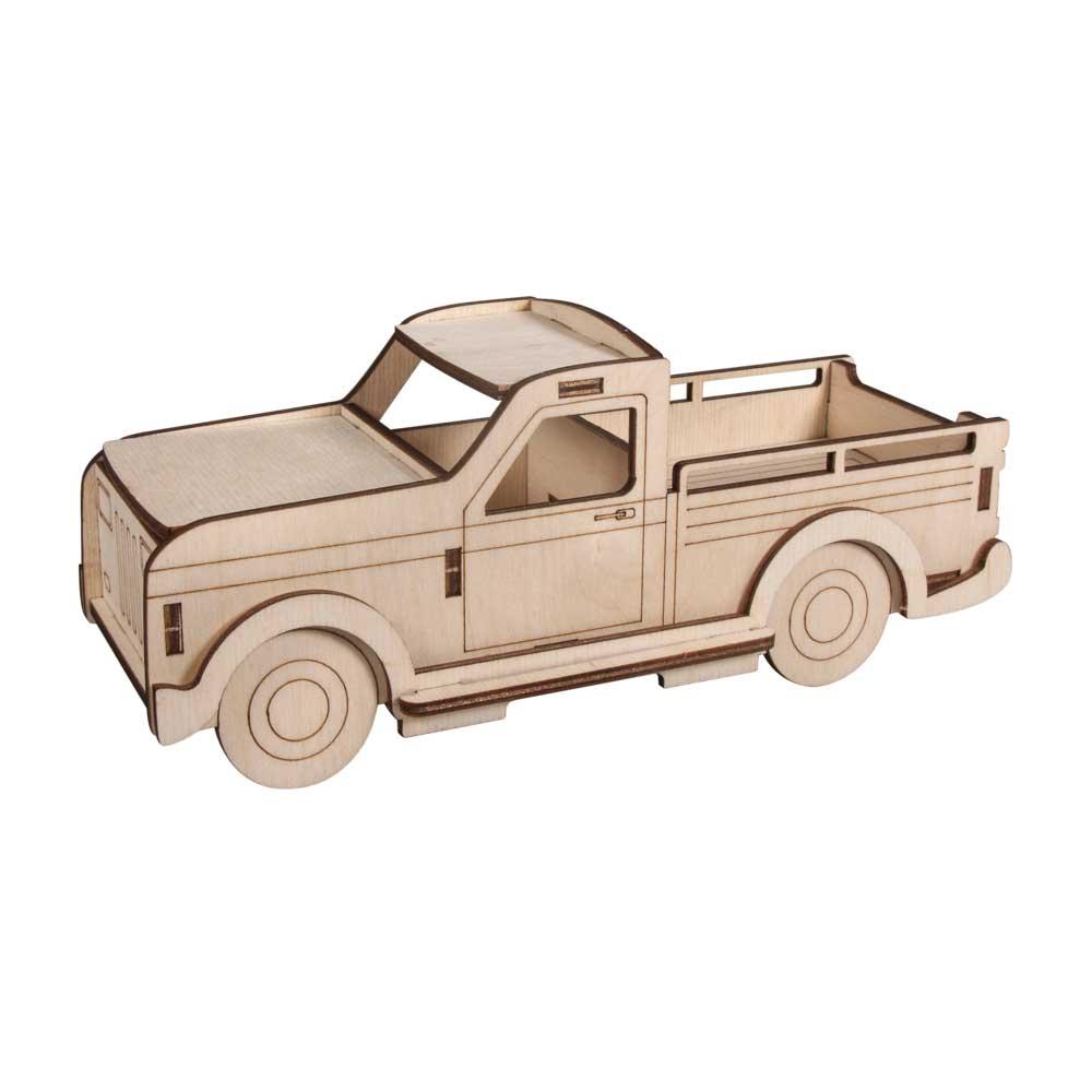 Auto, Holz-Fahrzeug, 3D Holzbausatz von RAYHER